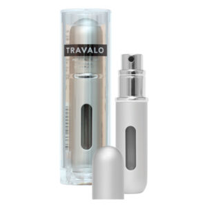 Travalo parfume refill spray i sølv - gratis levering