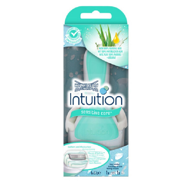 Intuition barberskraber med 1 stk barberblad