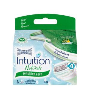 intuition barberblade refills pakke med 3 - her aloe vera