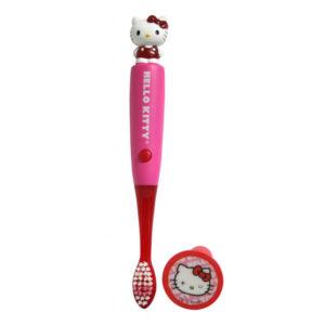 tandbørste med lys - hello kitty - firefly